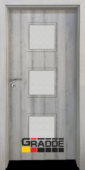 Интериорна врата Граде, модел Bergedorf, Ясен Вералинга