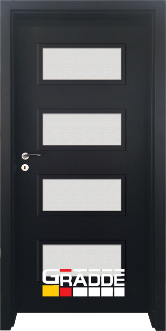 Интериорна врата Граде, модел Blomendal, Орех Рибейра