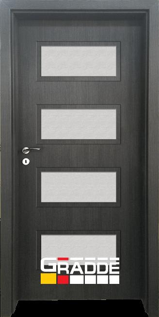 Интериорна врата Граде, модел Blomendal, Череша Сан Диего