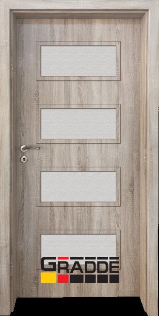 Интериорна врата Граде, модел Blomendal, Дъб Вераде