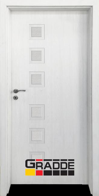 Интериорна врата Граде, модел Reichsburg, Сибирска Лиственица