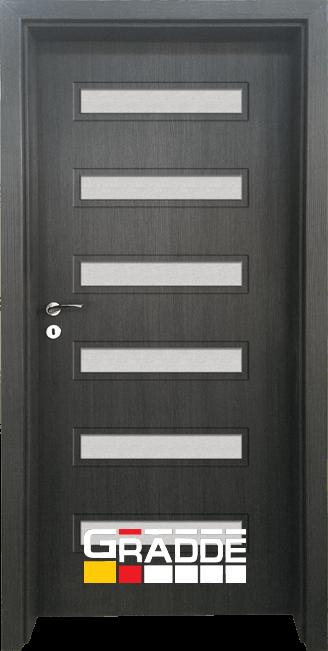 Интериорна врата Граде, модел Schwerin, Череша Сан Диего