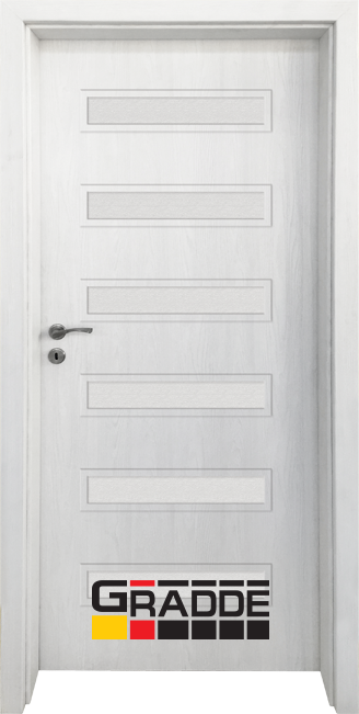 Интериорна врата Граде, модел Schwerin, Сибирска Лиственица
