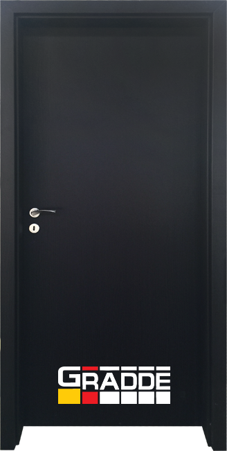 Интериорна врата Граде, модел Simpel, Орех Рибейра