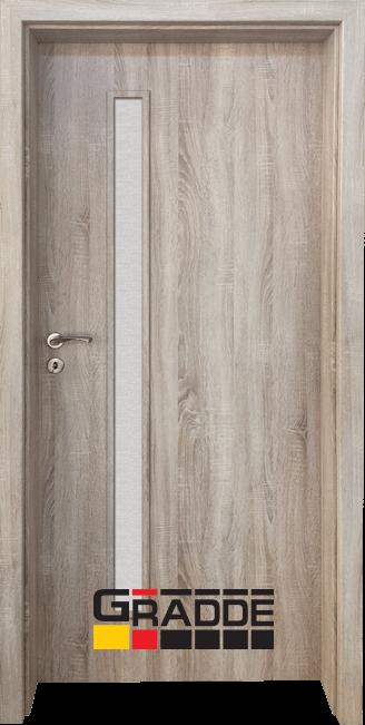 Интериорна врата Граде, модел Wartburg, Дъб Вераде