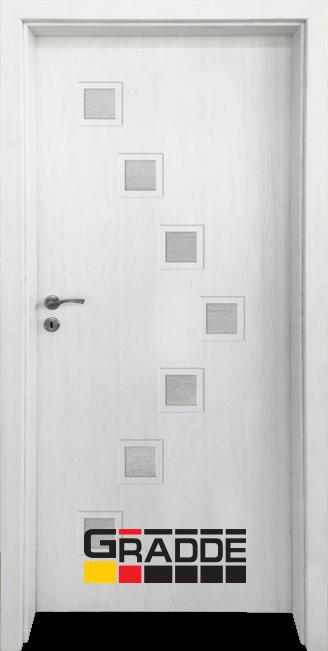Интериорна врата Граде, модел Zwinger, Сибирска Лиственица