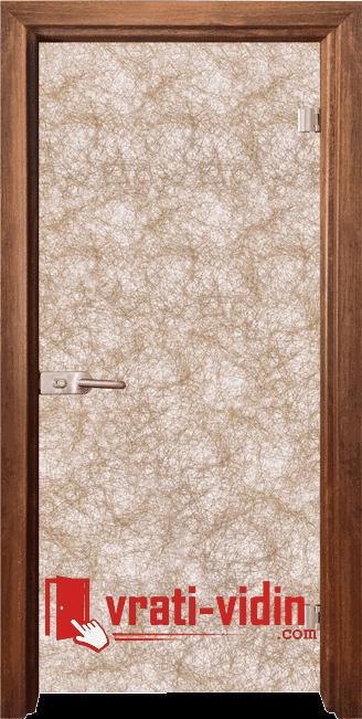 Стъклена интериорна врата, Fabric G 12-1