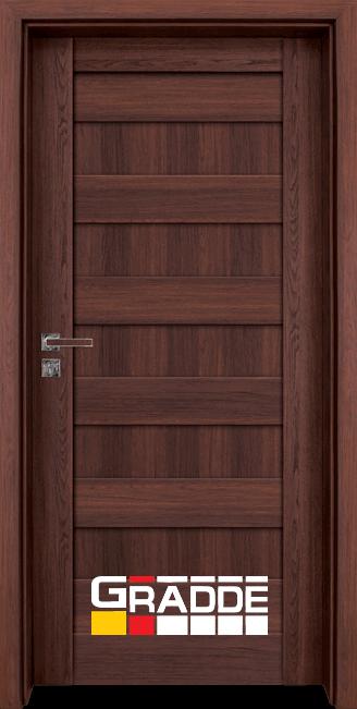 Интериорна врата Граде, модел Aaven Voll, Шведски Дъб