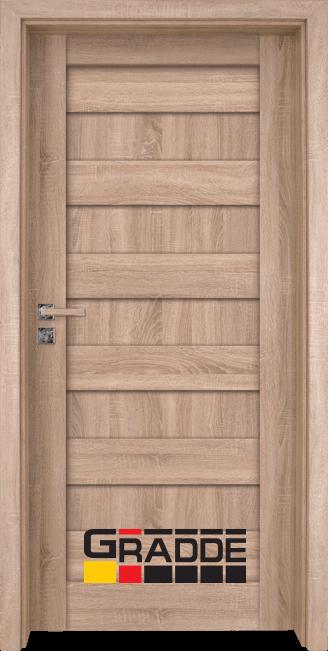 Интериорна врата Граде, модел Aaven Voll, Дъб Вераде
