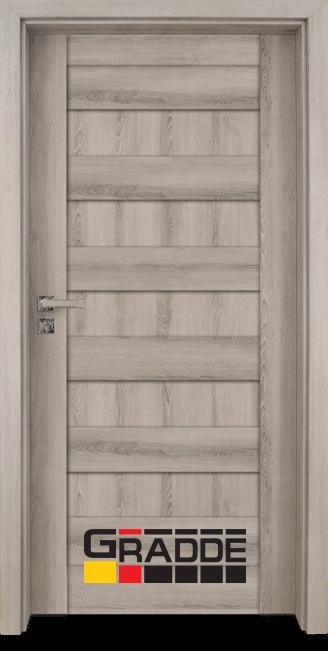 Интериорна врата Граде, модел Aaven Voll, Ясен Вералинга