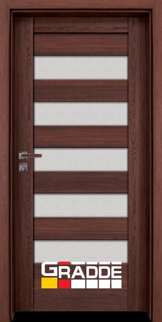 Интериорна врата Граде, модел Aaven Glas, Шведски Дъб