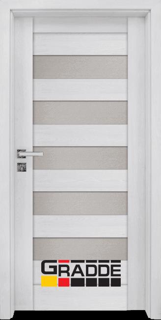 Интериорна врата Граде, модел Aaven Glas, Сибирска Лиственица