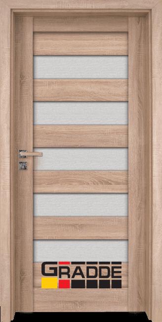 Интериорна врата Граде, модел Aaven Glas, Дъб Вераде