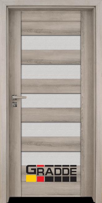 Интериорна врата Граде, модел Aaven Glas, Ясен Вералинга