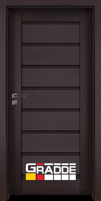Интериорна врата Граде, модел Axel Voll, Орех Рибейра