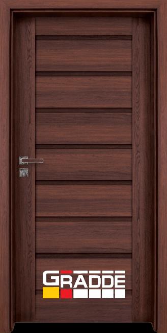 Интериорна врата Граде, модел Axel Voll, Шведски Дъб