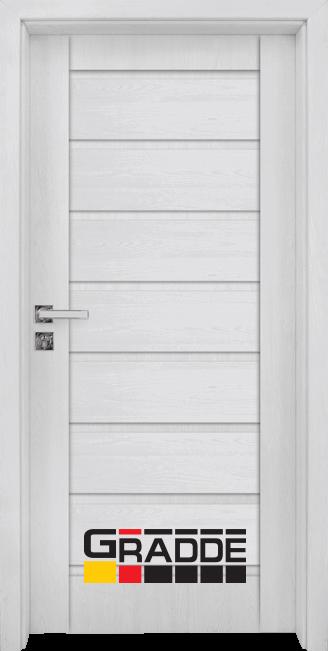 Интериорна врата Граде, модел Axel Voll, Сибирска Лиственица