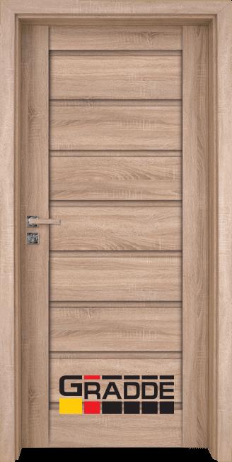 Интериорна врата Граде, модел Axel Voll, Дъб Вераде