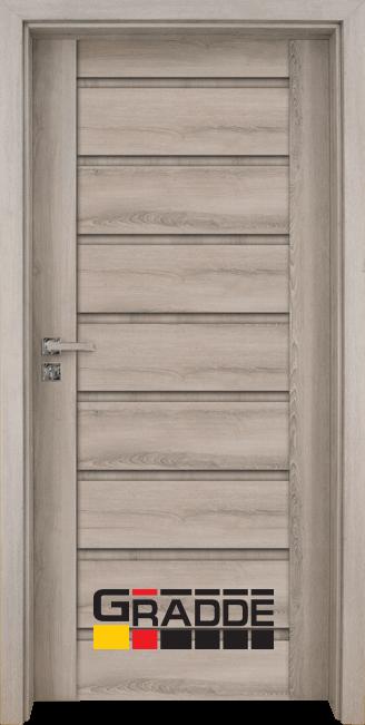 Интериорна врата Граде, модел Axel Voll, Ясен Вералинга
