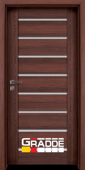 Интериорна врата Граде, модел Axel Glas, Шведски Дъб