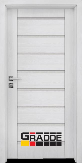 Интериорна врата Граде, модел Axel Glas, Сибирска Лиственица