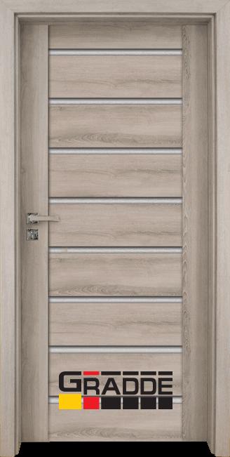 Интериорна врата Граде, модел Axel Glas, Ясен Вералинга