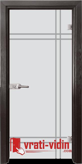 Стъклена интериорна врата, Gravur G 13-8