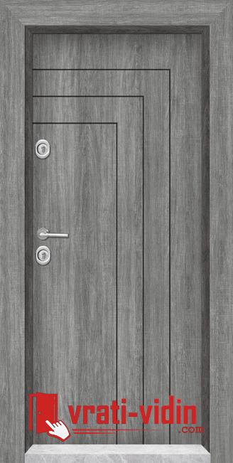 входна врата сив дъб