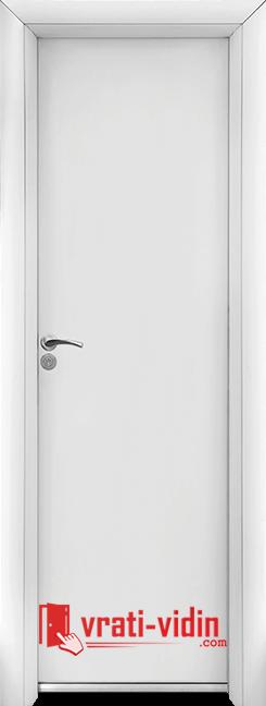 Алуминиева врата за баня – Standart, цвят Бял