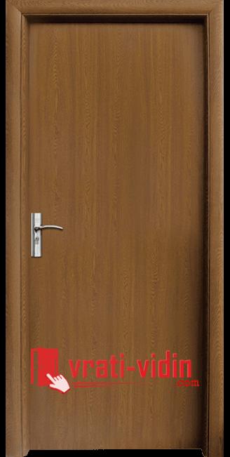 Интериорна HDF врата модел 030, цвят Златен дъб