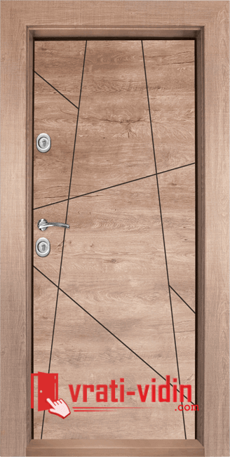 Блиндирана входна врата, модел Т-1003