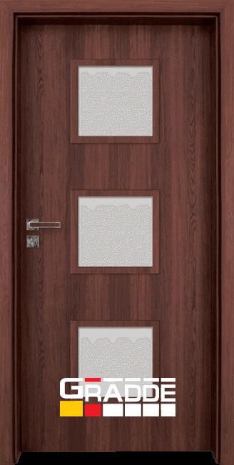 Интериорна врата Граде, модел Bergedorf, Шведски Дъб