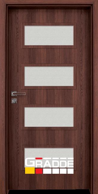 Интериорна врата Граде, модел Blomendal, Шведски Дъб