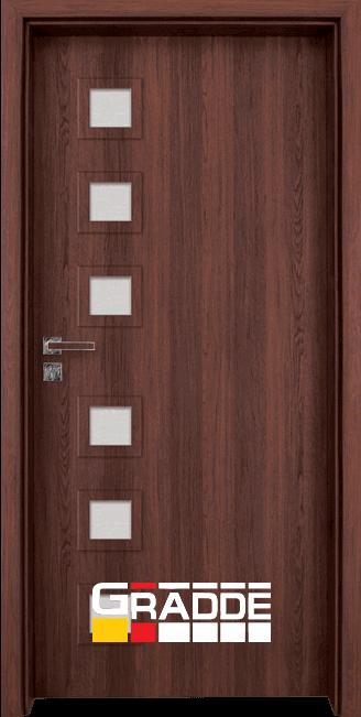 Интериорна врата Граде, модел Reichsburg, Шведски Дъб