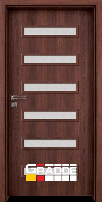 Интериорна врата Граде, модел Schwerin, Шведски Дъб