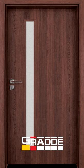 Интериорна врата Граде, модел Wartburg, Шведски Дъб