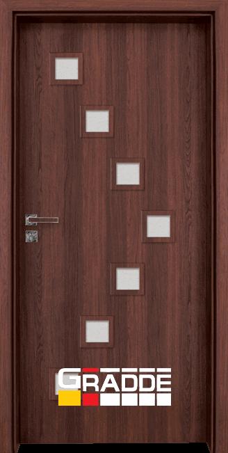 Интериорна врата Граде, модел Zwinger, Шведски Дъб